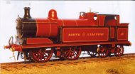North Staffordshire/LMS M or New M 0-4-4 Tank