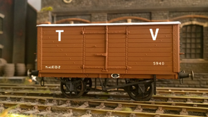 Taff Vale/Great Western 10 ton Covered Van