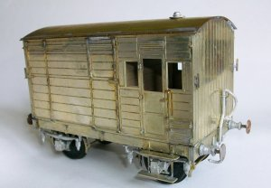 CC024 LSWR Dia1501/2 Cattle Wagon